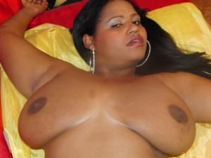 Victorina - grosse schwarze titten